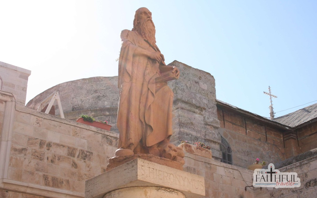 St Jerome and the Church of St Catherine of Alexandria
