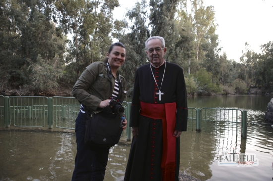 Me, my PacSafe bag, and Cardinal Rigali