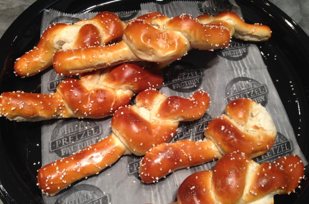 Over at the Register: Our Lady of Knots and Pretzels